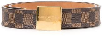 Louis Vuitton Carre buckle belt