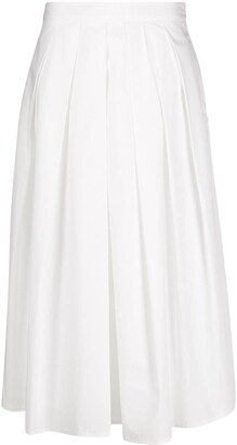 Fabiana Filippi Pleated Waist Skirt