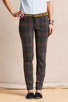 Lands' End Canvas Women's True Slim Caroler Pants