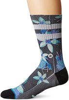 Stance Men's Plume Tropical Stripe Arch Support Classic Crew Sock