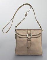 Village Double-Flap Leather Cross-Body Bag