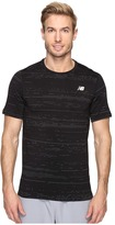New Balance Max Speed Short Sleeve Top