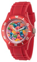 Sesame Street Unisex Red Plastic Watch - Red