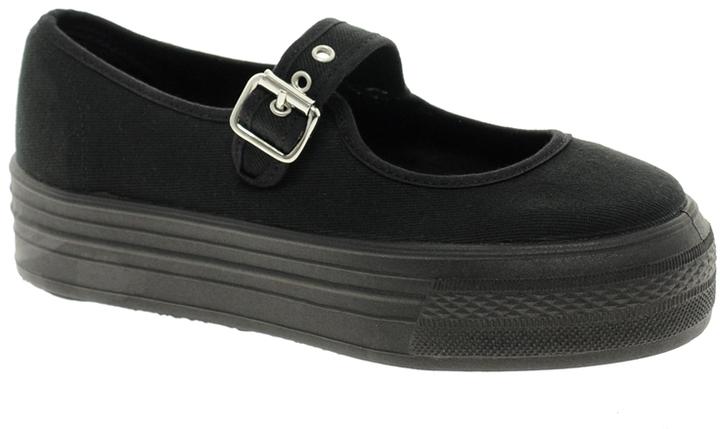 Asos DANCE HALL Flatform Sneakers