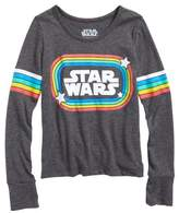 Mighty Fine Star Wars(TM) Retro Rainbow Graphic Tee
