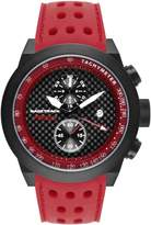 Glam Rock Men's Racetrack 48mm Silicone Band Swiss Quartz Watch Grt29116f-N