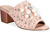 Aldo Women's Pearls Embellished Slides Women's Shoes