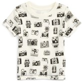 Infant Boy's Peek Camera Graphic Cotton T-Shirt
