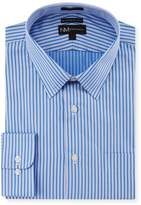Neiman Marcus Classic-Fit Regular-Finish Striped Dress Shirt