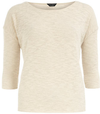 Dorothy Perkins Ivory textured top