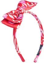 Oscar de la Renta Petite Roses Bow Headband