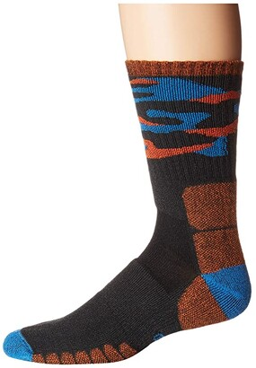 Eurosock Hike Medium Crew Camo (Anthracite) Crew Cut Socks Shoes