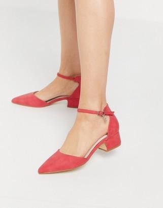 Xti block heeled shoes