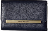 Tommy Hilfiger TH Serif Signature - Medium Flap Wallet