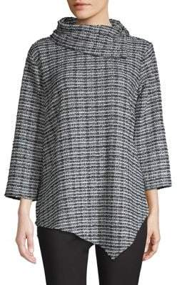 Vince Camuto Textured Cowlneck Sweater