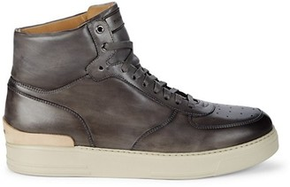 Magnanni Condor Leather High-Top Sneakers