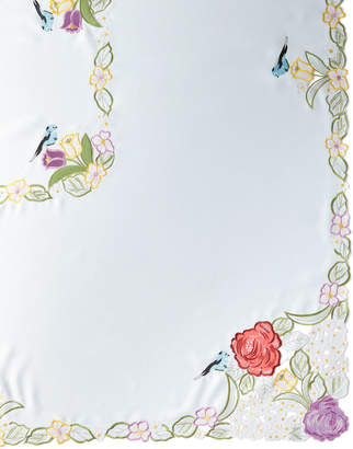 "Sferra Springtime 72"" x 144"" Tablecloth & 12 Napkins"