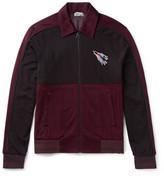 Lanvin - Embroidered Jersey Zip-up Sweatshirt