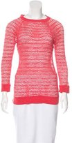 Isabel Marant Mesh Long Sleeve Top