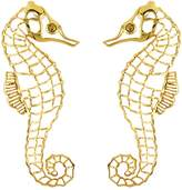 Oscar de la Renta Seahorse Earrings