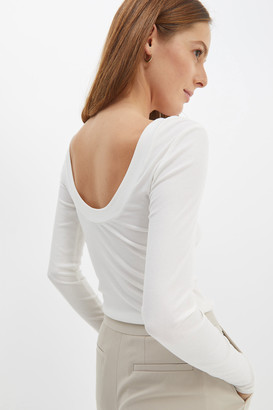 SABA Emilie Rib Long Sleeve Top