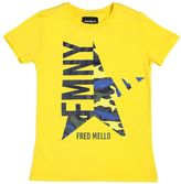 Fred Mello Star Printed Cotton Jersey T-Shirt