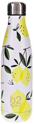 Hydro2 Togo Vacuum Double Wall Stainless Steel Water Bottle 500ml Lemon