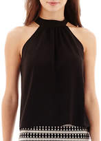 Bisou Bisou Tie-Back Halter Top