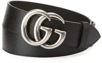 f41724b8ecee31 Gucci Mens Leather Belt - ShopStyle