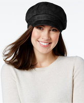 Nine West Faux Suede Newsgirl Cap