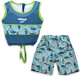 Aqua Leisure Boys' 2-Piece Swim Trainer in Blue