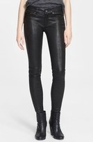 Rag & Bone Women's Lambskin Leather Skinny Pants