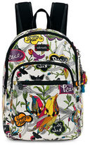 Sakroots Artist Circle Small Backpack & Charging Wristlet- Set of 2