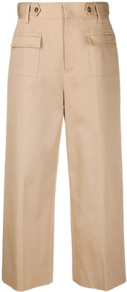 RED Valentino Cropped Safari Trousers