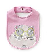 Joules Baby Girls Yum Yum Hamster Applique Bib