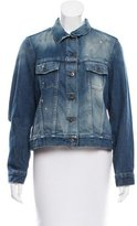 Simon Miller Distressed Denim Jacket w/ Tags