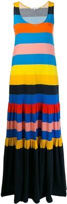 Parker Chinti & colour block shift dress