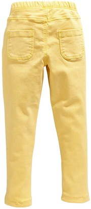 Very GirlsWoven Jeggings - Yellow