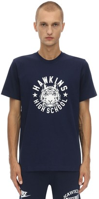 Nike Stranger Things Cotton Jersey T-Shirt