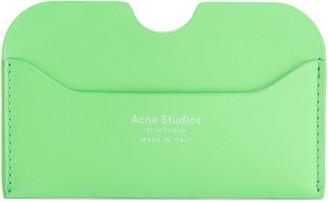 Acne Studios Elmas Fluorescent Card Case