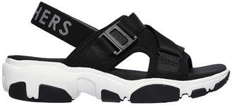 Skechers Daddy-O - Dibs Womens Adjustable Strap Footbed Sandals