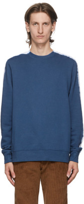 Paul Smith Blue Tie-Dye Sweatshirt