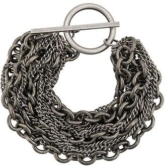 Ann Demeulemeester multi chain bracelet