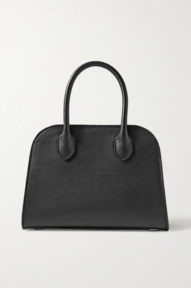The Row Margaux 7.5 Leather Tote - Black