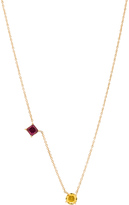 Ileana Makri Round & Square Necklace
