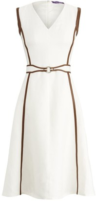 Ralph Lauren Channing Sleeveless Day Dress