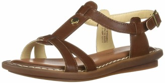 Hush Puppies Women Olive T Ankle Strap Sandals