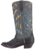 Golden Goose Deluxe Brand Distressed Cowboy Boots