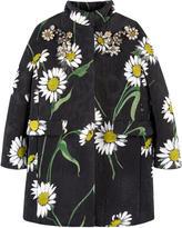 Dolce & Gabbana Mini Me brocade coat with Swarovski rhinestones