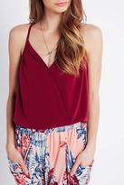 BCBGeneration Crossover Strappy Top
